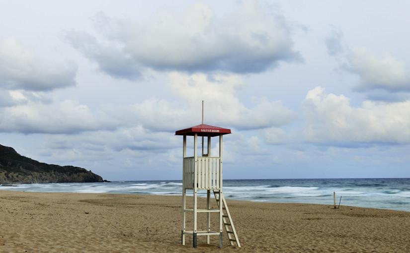 Küstenwache in Sardinen